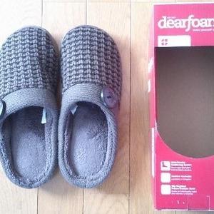 DEARFOAMS sweater knit scuff セーターニットスカッフ