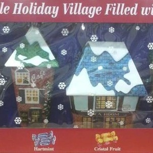 Trefin トレファン collectable holiday village filled with treats ホリデーキャンディーアソート 4缶セット