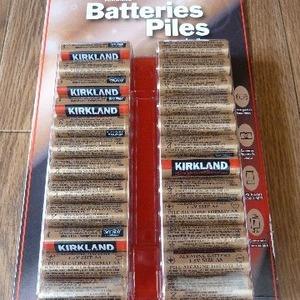 カークランド 単3アルカリ電池 48本パック