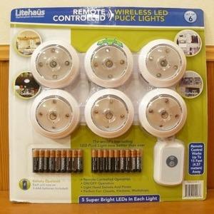 Litehaus ワイヤレス LED パックライト