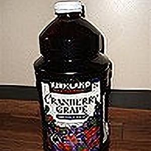 カークランド クランベリーグレープ100%ジュース