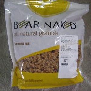 BEAR NAKED ベアネイクドバナナナッツ(グラノーラバナナナッツ)