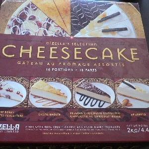 GIZELLA 冷凍アソートチーズケーキ