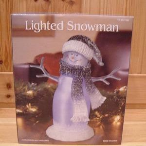カークランド Lighted Snowman