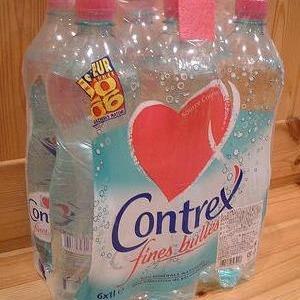 コントレックス(Contrex) 炭酸入りナチュラルミネラルウォーター