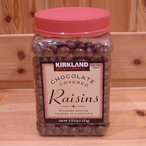 カークランド チョコレートレーズン