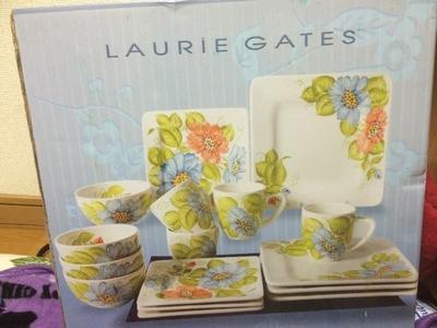 ローリーゲイツ サービングセット 16PC Laurie Gates