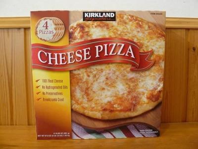 カークランド チーズピザ
