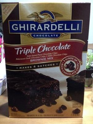 にゃ。さん[4]が投稿したGHIRARDELLI(ギラデリ)  トリプルチョコレート ブラウニーミックスの写真