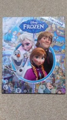 Look and Find Disney Frozen 絵本