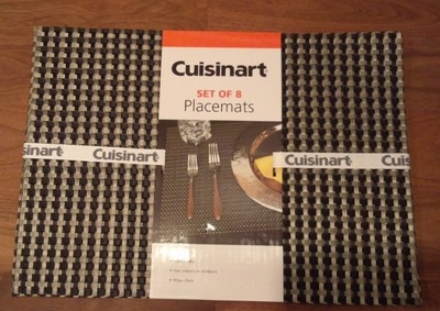 Cuisinart ランチョンマット(set of 8  Placemats)