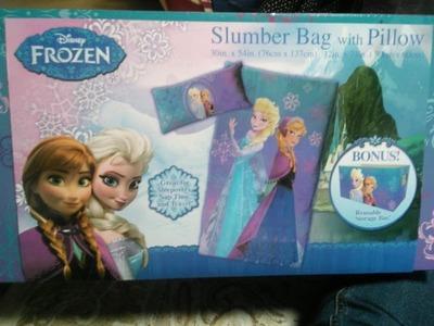 Disney ディズニー 寝袋&枕セット (SLUMBER BAG WITH PILLOW)