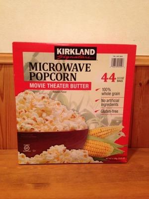 (名無し)さん[2]が投稿したカークランド マイクロウェーブ ポップコーン ムービーシアターバター味の写真