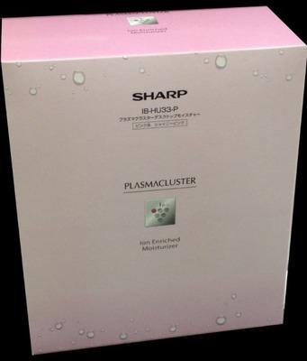 SHARP プラズマクラスター デスクトップモイスチャー IB-HU33