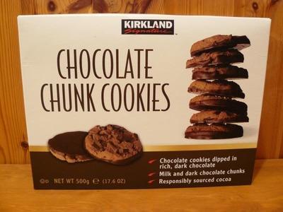 カークランド チョコレート チャンククッキー