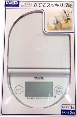 タニタ デジタル クッキングスケール KD-184N