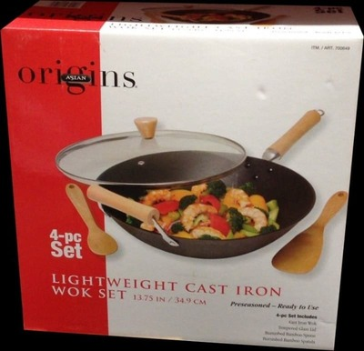 ASIAN ORIGINS 鋳鉄製中華鍋