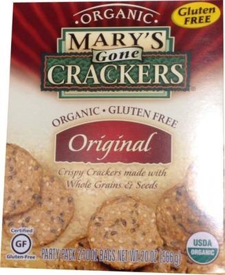 Mary's Gone Crackers 有機グルテンフリークラッカー