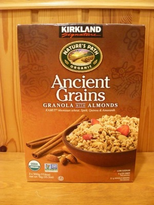 カークランド Ancient Grains アーモンド グラノーラ