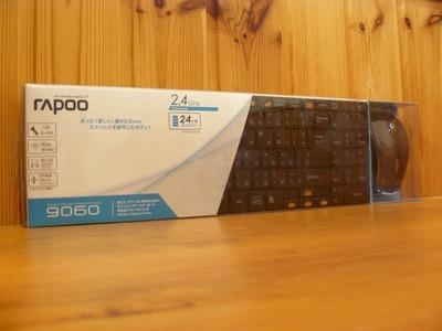 UNIQ RAPOO 9060 ワイヤレス キーボード マウス セット