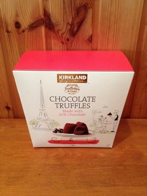 カークランド トリュフチョコレート