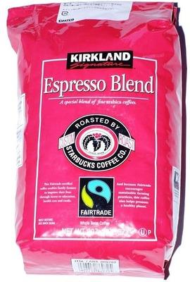 名無しさん[2]が投稿したカークランド スターバックス ローストエスプレッソ ブレンドコーヒーの写真