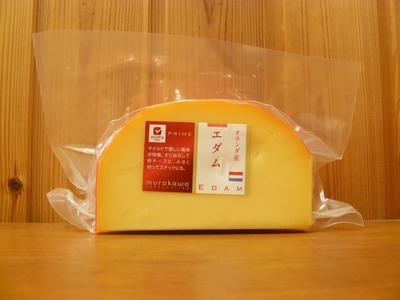ムラカワ エダムチーズ 1/4カットサイズ