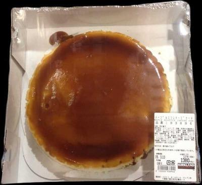 カークランド メープルスフレチーズケーキ