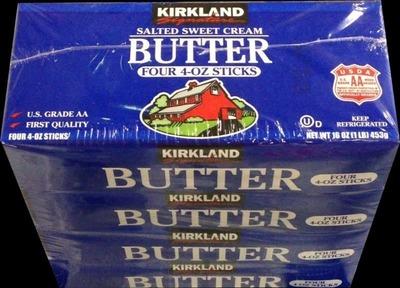 カークランド 有塩バター