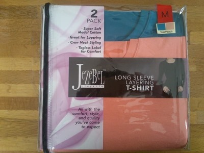 JeZeBel long sleep layering T-SHIRT ジザベル  長袖Tシャツ