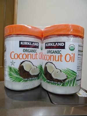 nnknk3さん[2]が投稿したカークランド オーガニックバージンココナッツオイルの写真