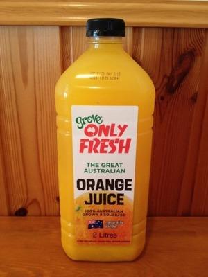 GROVE オレンジジュース 2L