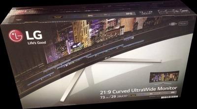 LG Electronics Japan 29型 曲面Ultra Wide AH-IPS液晶モニター 29UC97-S