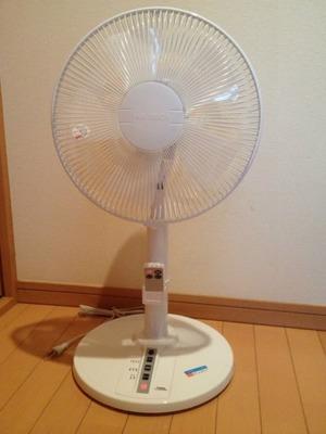 (名無し)さん[3]が投稿したYUASA リビング扇風機 CY-303SR (WH)の写真