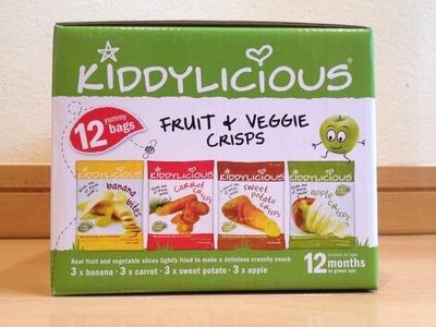 KIDDYLICIOUS フルーツ&ベジタブル チップス