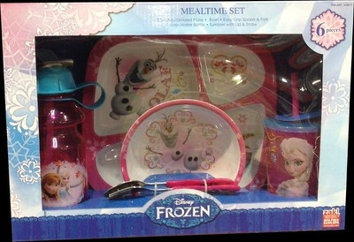 Zak Designs Mealtime Sets Products FROZEN アナと雪の女王 キッズ用食器6点セット