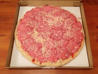(名無し)さん[5]が投稿したカークランド 丸型ピザ ペパロニの写真