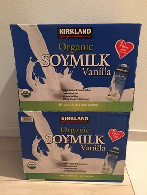 junaさん[334]が投稿したカークランド バニラ豆乳 ORGANIC SOYMILKの写真
