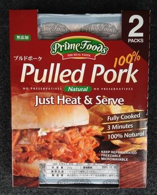 Prime Foods the real taste プルドポーク