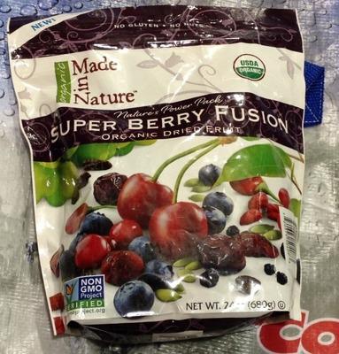 Made in Nature スーパーベリーフージョン オーガニック ドライフルーツ