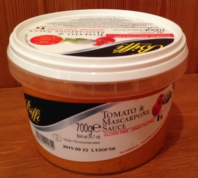 (名無し)さん[2]が投稿したBIFFI  トマト&マスカルポーネチーズ パスタソースの写真