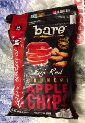 (名無し)さん[2]が投稿したBARE FOODS ふじりんごチップスの写真