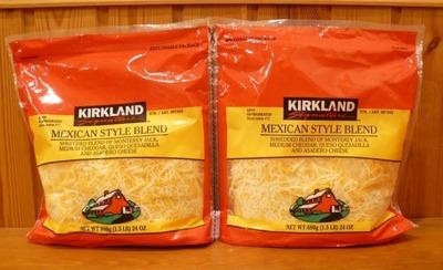 カークランド メキシカンスタイル ブレンド チーズ