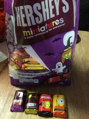 ハーシーズ ミニチュア パーティ チョコレート HERSHEYS MINIATURES PARTY