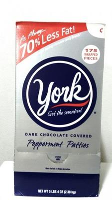 ヨーク ダークチョコレート ペパーミント パティーズ york  peppermint patties