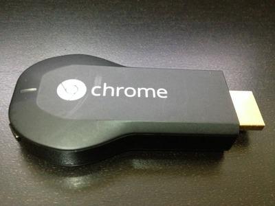 Google Chromecast グーグル クロームキャスト