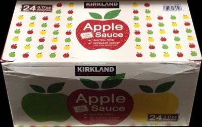 (名無し)さん[3]が投稿したカークランド アップルソース パウチの写真