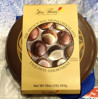 イヴ チュリエス フレンチ マカロン チョコレート アソート yves thuries the french macarons chocolates exquisite assortment