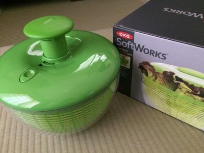 OXO soft works salad spinner オクソー ソフトワークス サラダスピナー