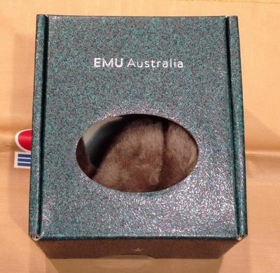 Emu Australia イヤーマフ 耳当て Sheepskin Ear Warmers